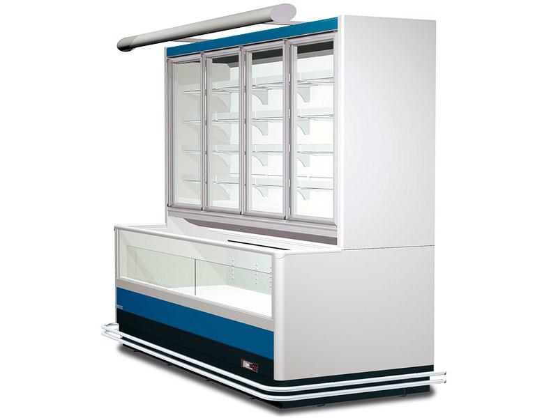 Комбинированный холодильный шкаф