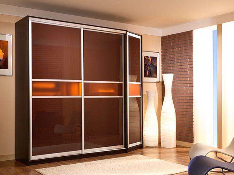 Купить шкаф-купе в гостиную для одежды по индивидуальным раз.