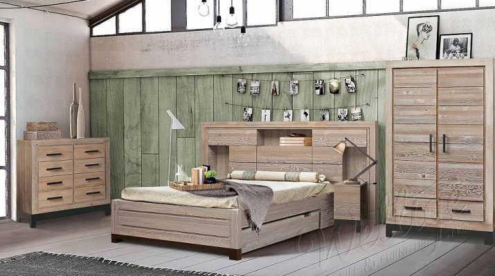 Корпусная мебель в стиле лофт