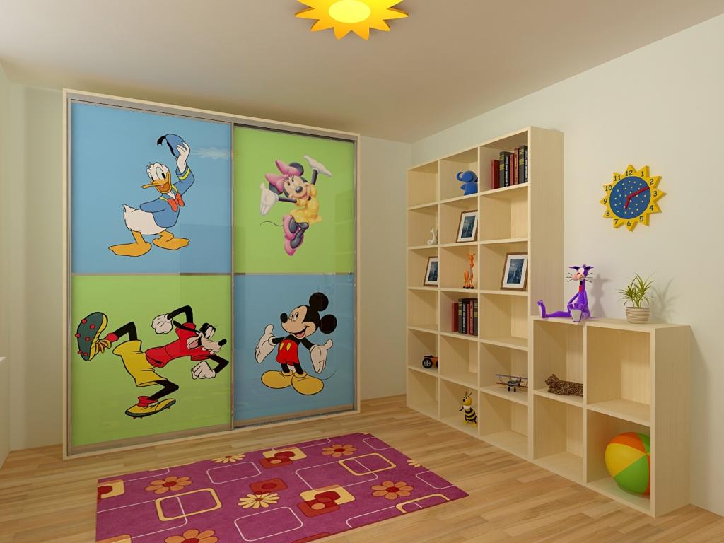 Корпусный шкаф для детской