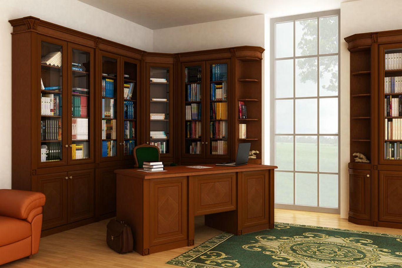 Фото: библиотеки, кабинеты, шкафы длЯ книг, встроенные шкафы.
