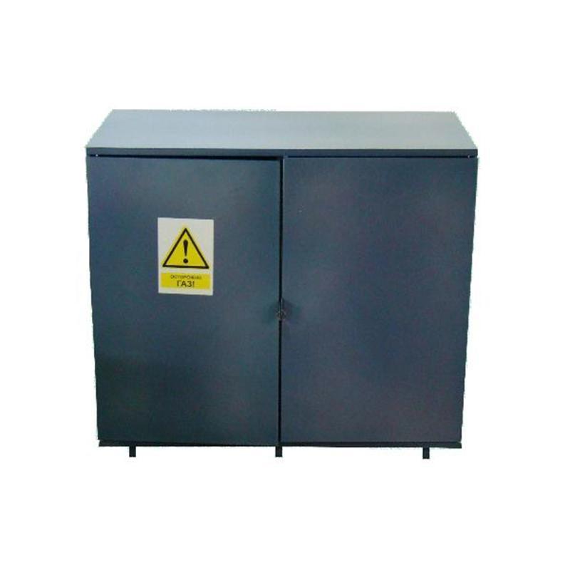 Металлический шкаф для баллона