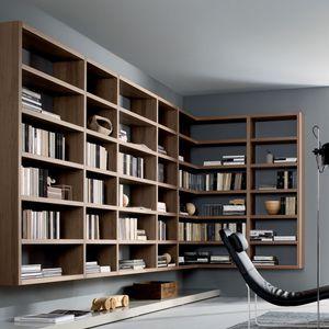 Настенный шкаф библиотека