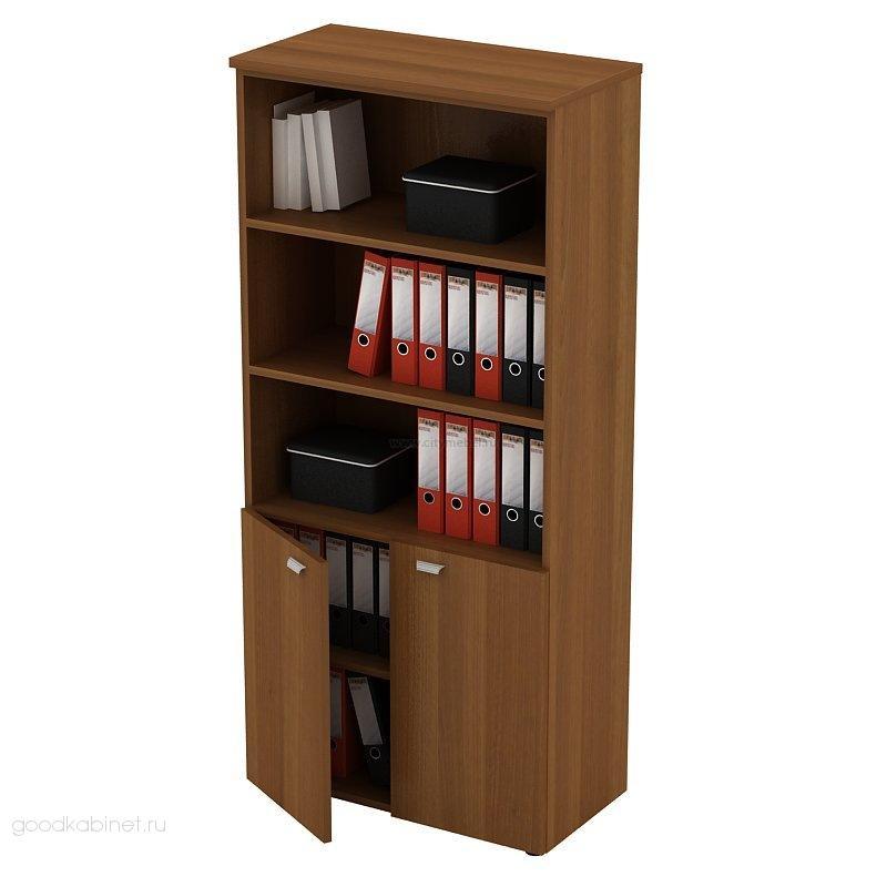Офисный шкаф для документов полузакрытый
