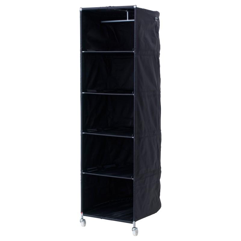 Открытый тканевый шкаф
