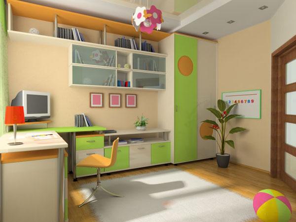 Пример детской комнаты
