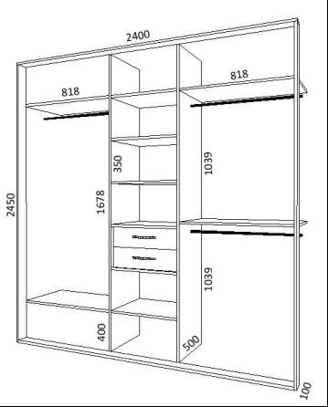 Проект небольшого шкафа