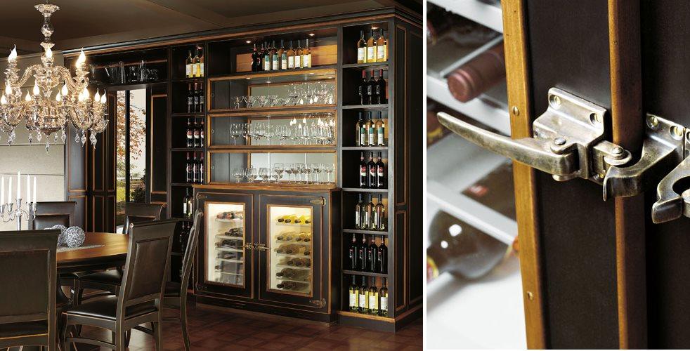 Профессиональный барный шкаф