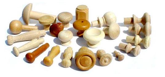 Производим деревянные мебельные ручки