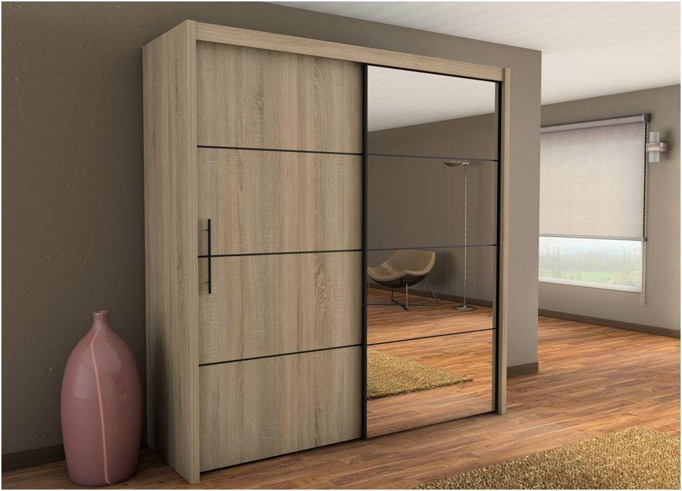 Раздвижные двери в шкаф купе