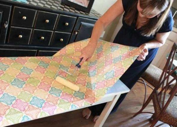 Реставрация мебели самоклейкой