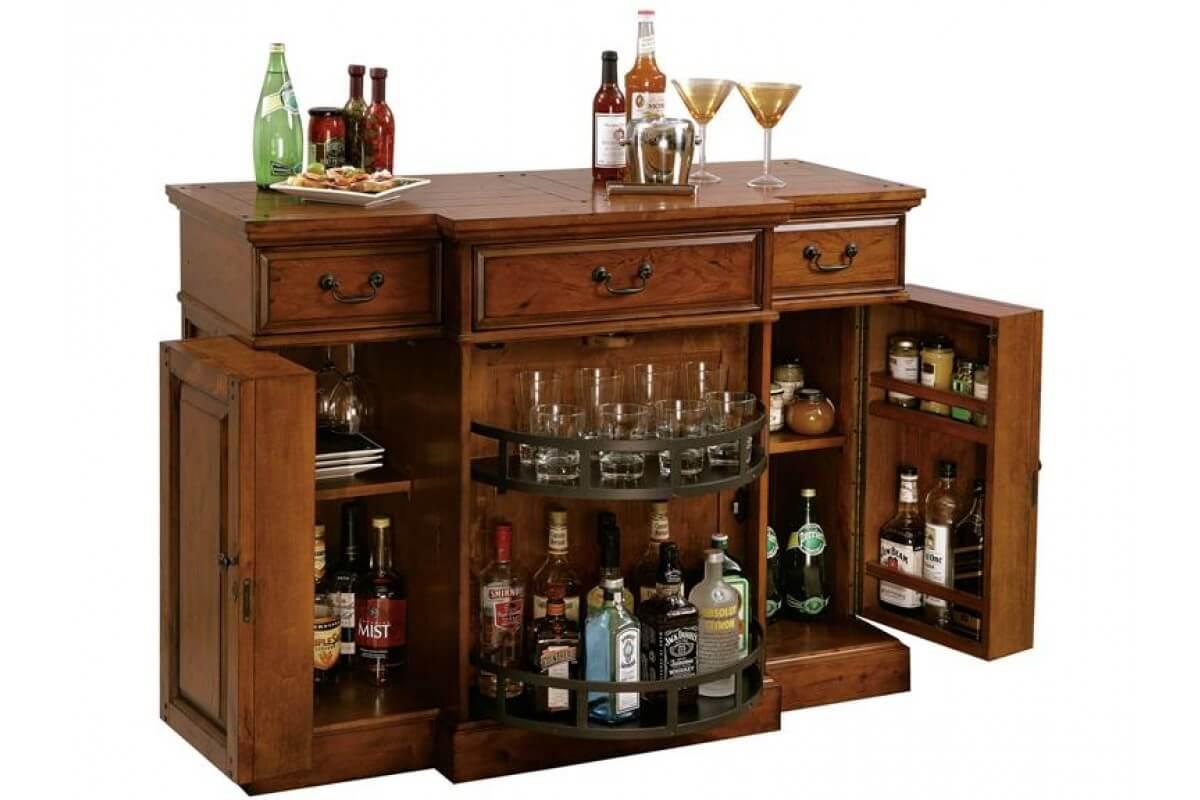 Шкаф-бар для дома