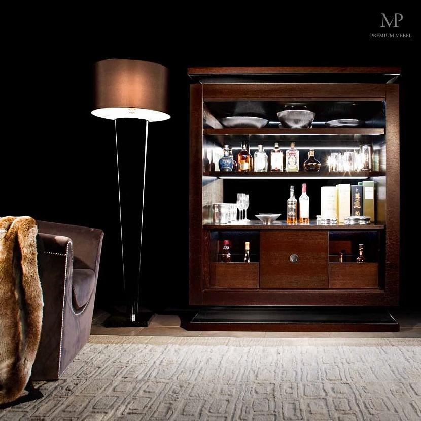 Шкаф бар в интерьере