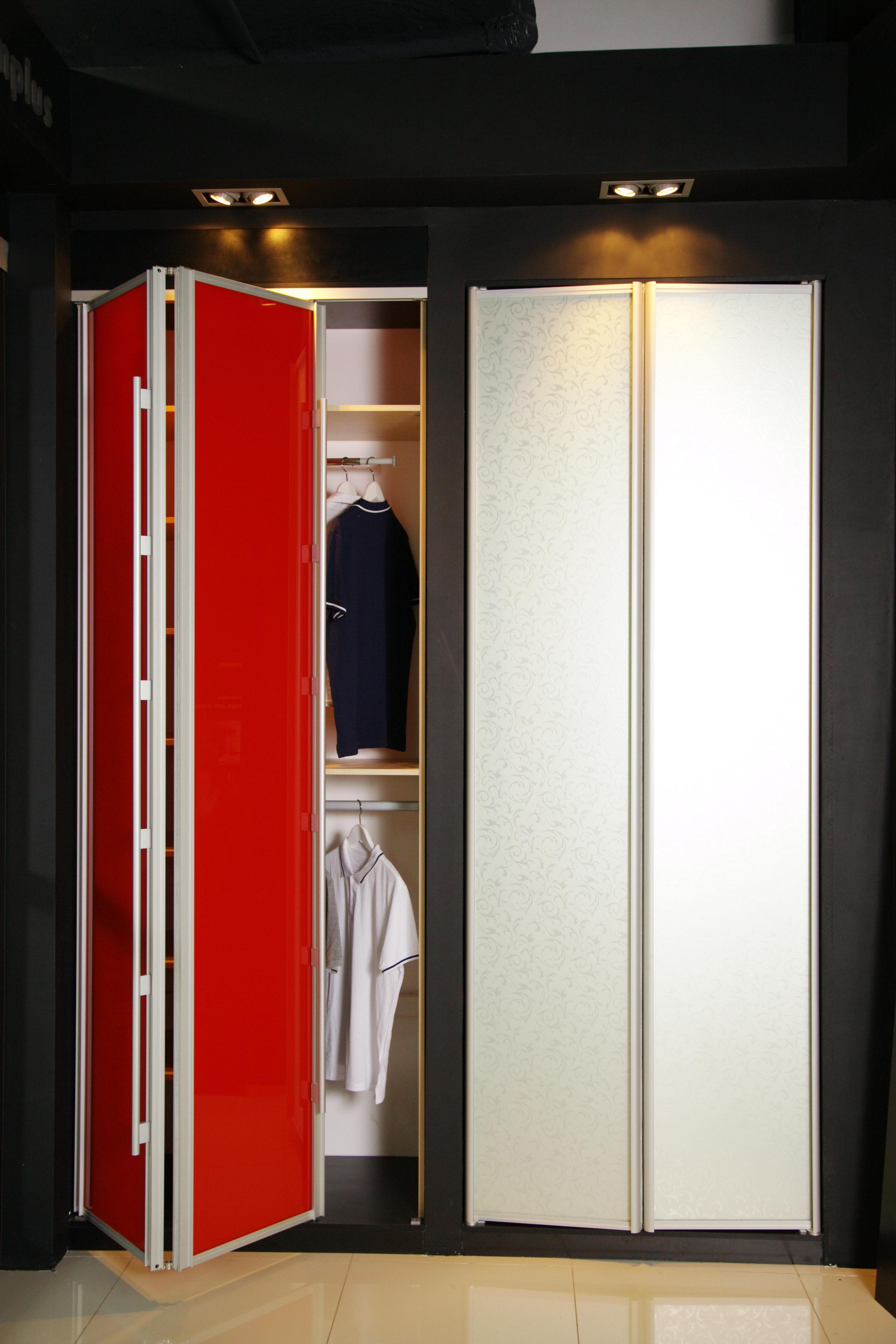 Шкаф гармошка для детской