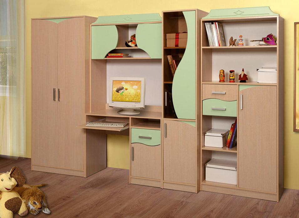Шкаф в детскую комнату для мальчика, плюсы и минусы моделей.