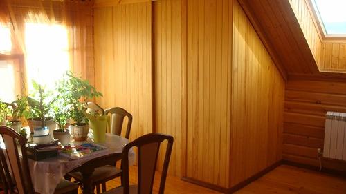Шкаф из деревянной вагонки