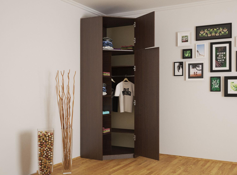 Угловой шкаф, существующие модели, их наполнение и материалы.