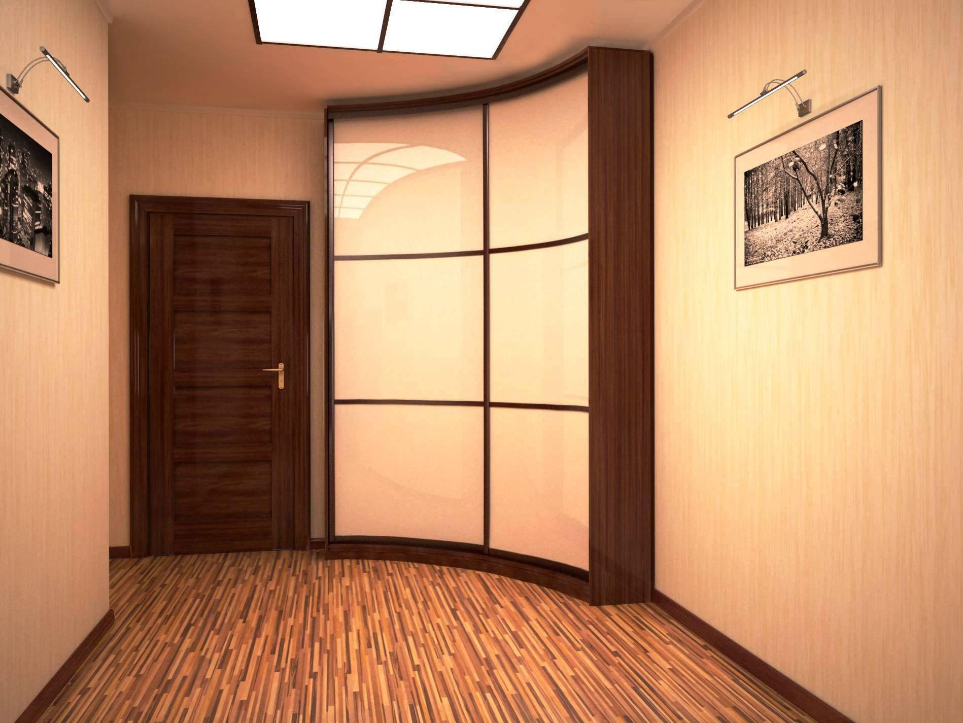 Шкаф с фасадом лакобель