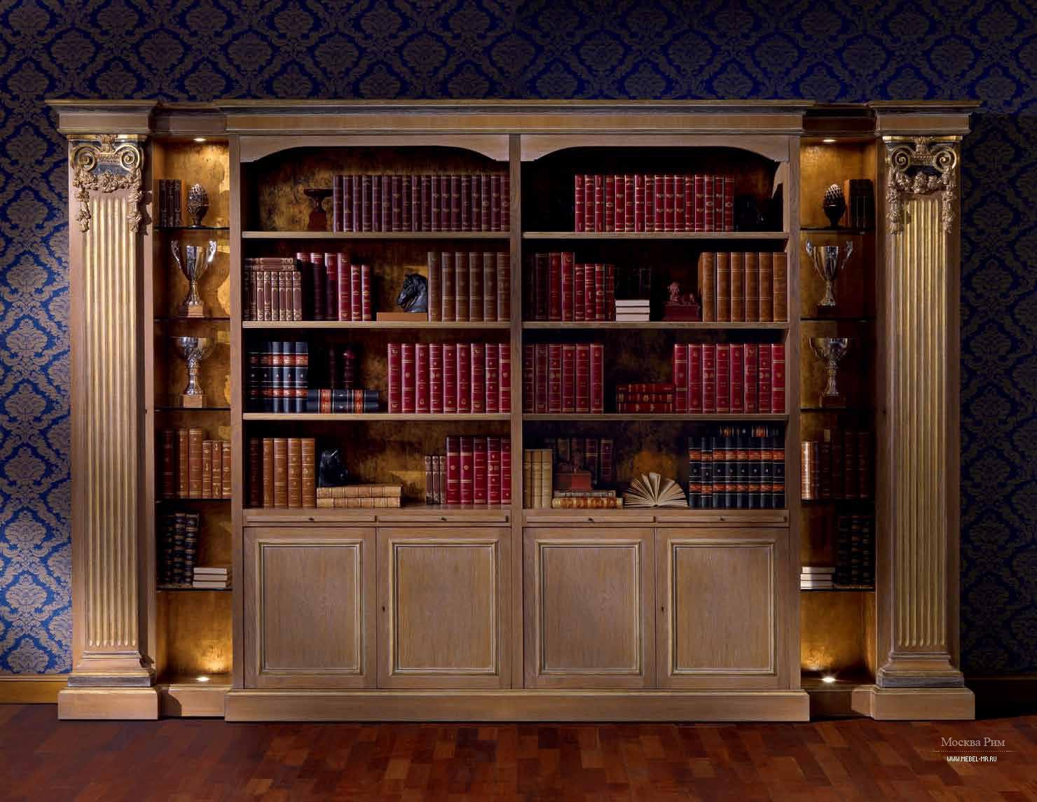 Книжный шкаф zanaboni b/4560 palazzo mobili.