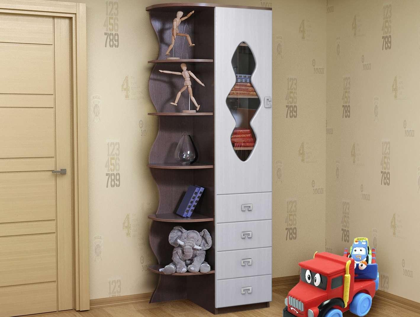Шкаф с угловым элементом