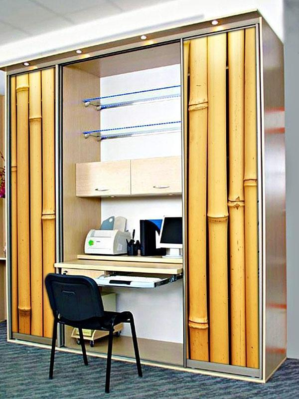 Шкаф в виде кабинета