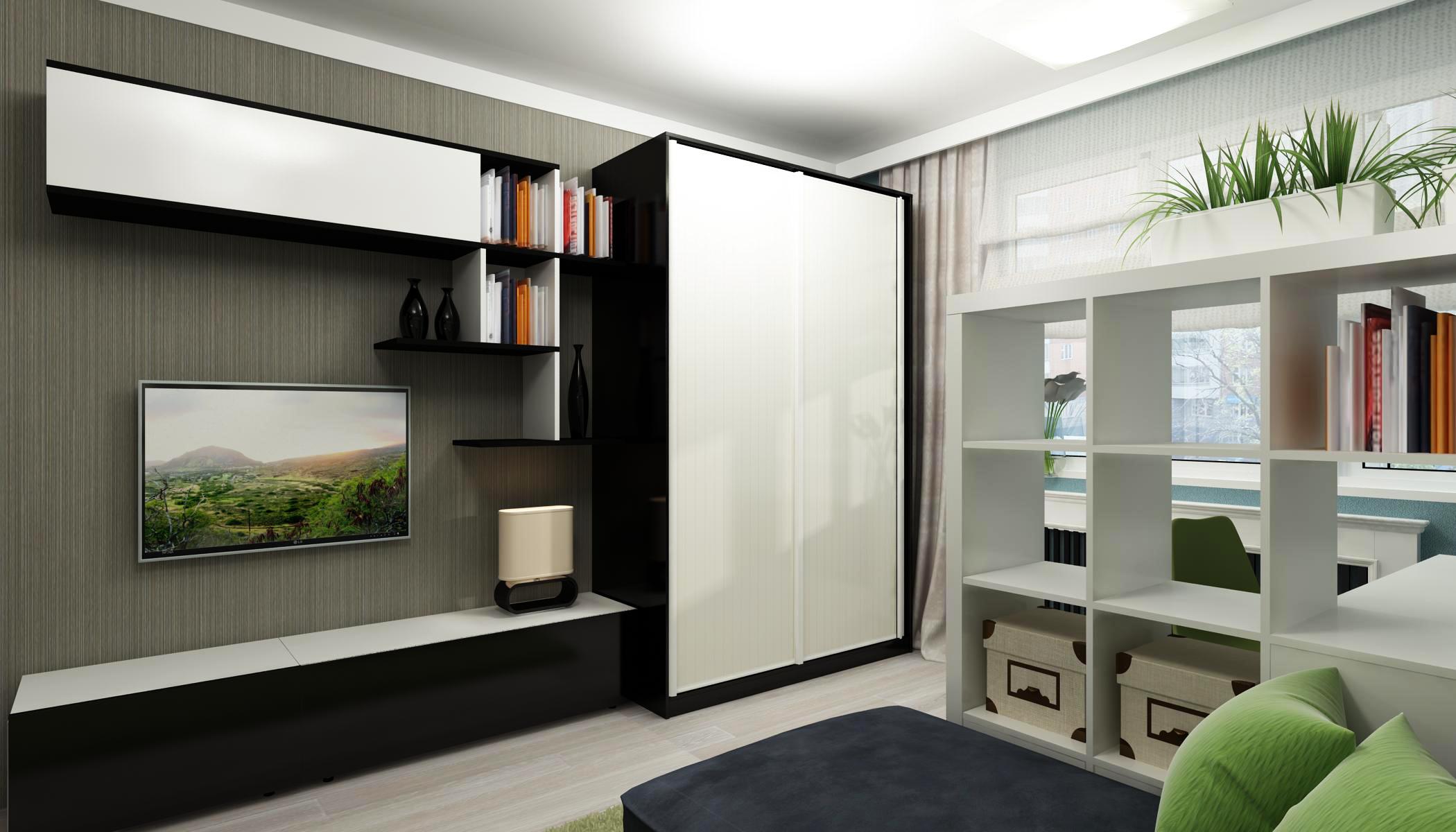 Шкафы для зала