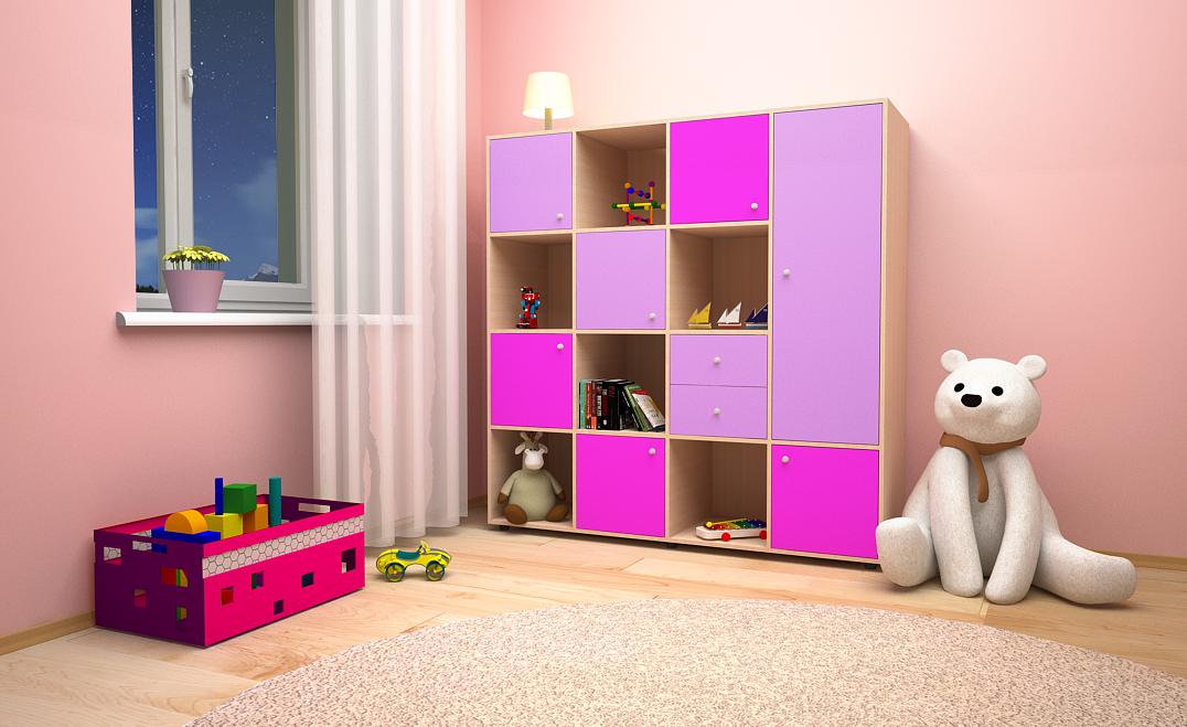 Шкафчик для детских игрушек