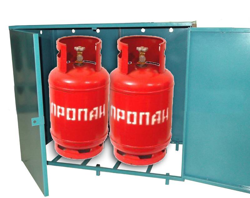 Шкафы для 27-литровых газовых баллонов