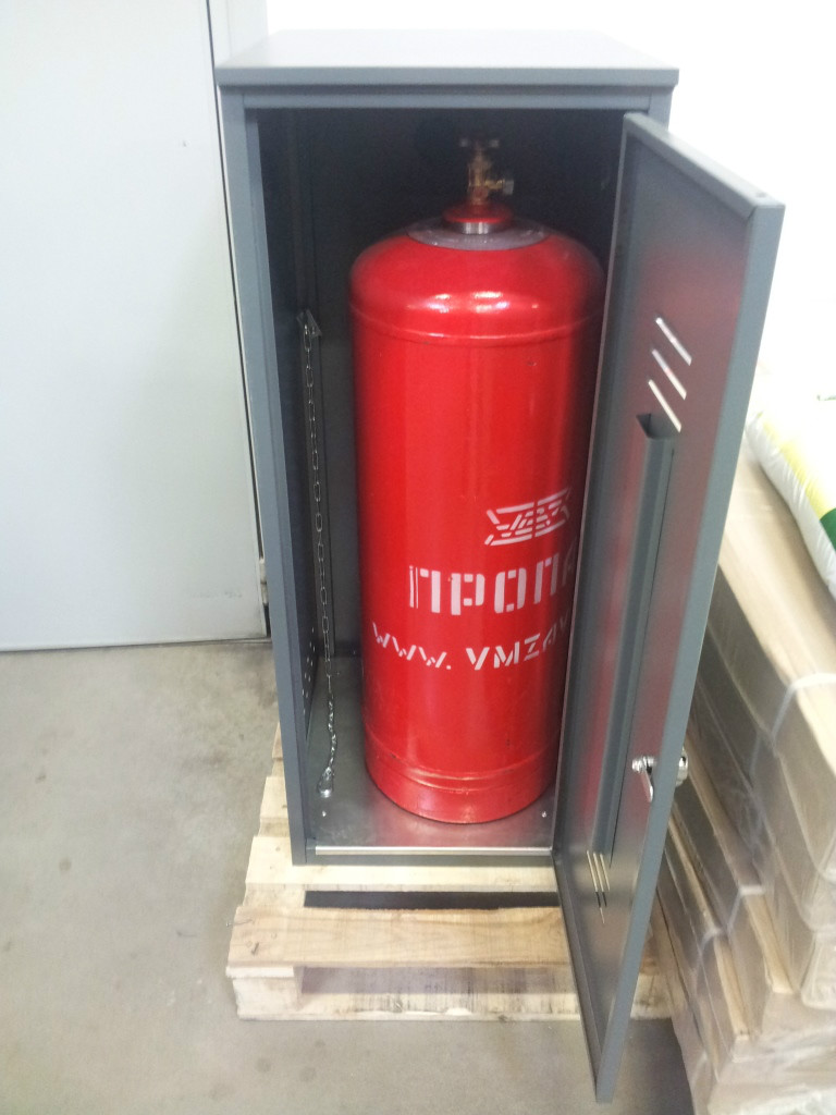 Шкафы для газовых баллонов от производителя