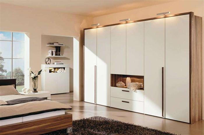 Шкафы для спальни разных стилей
