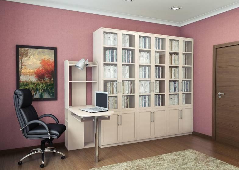 Шкафы и стеллажи из серии мебели для персонала