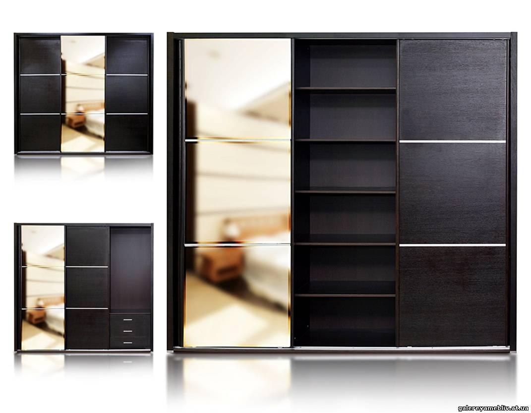 Шкаф венге, особенности цвета и его сочетание с другими элем.
