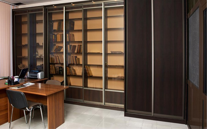 Шкафы офисные деревянные