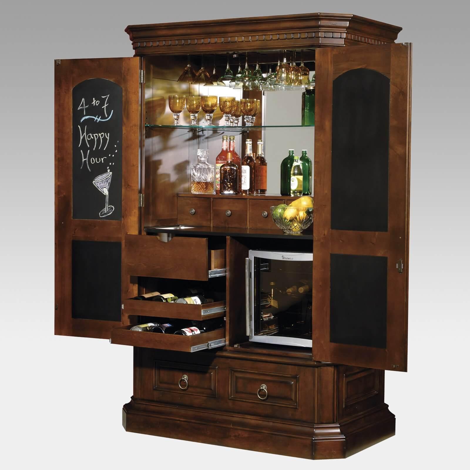 Шкафы с баром