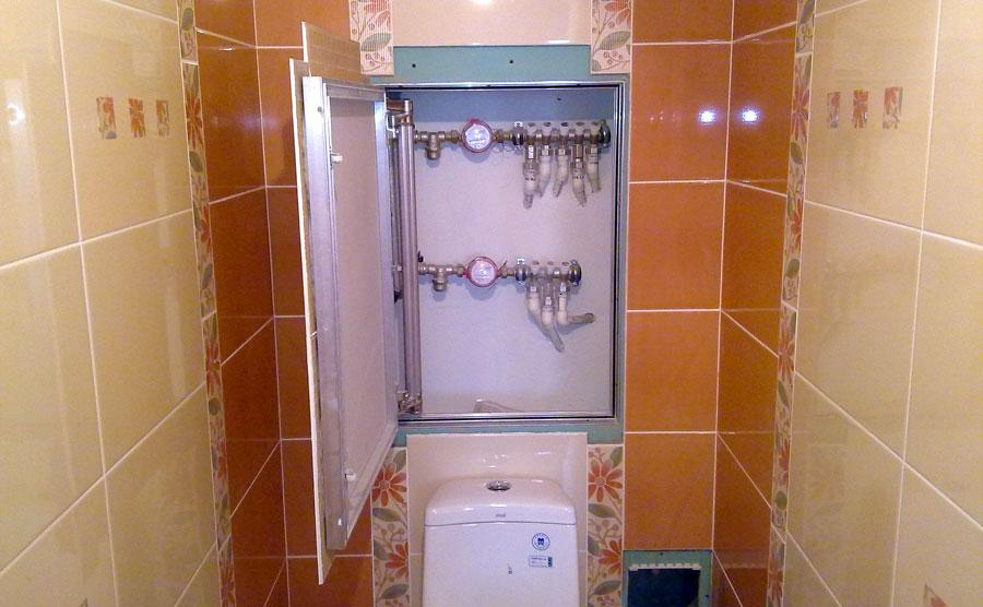 Сантехнические дверцы в туалет