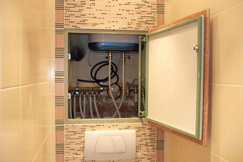 Сантехнический шкаф