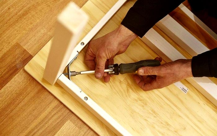 Сборка мебели – ответственный этап