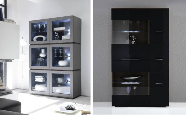 Современные шкафы для посуды
