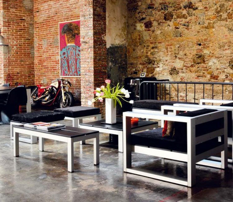 Стиль лофт мебель в интерьере