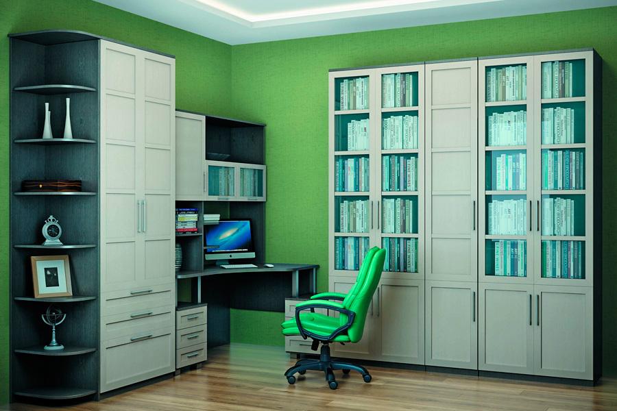 Стильные идеи для домашней библиотеки
