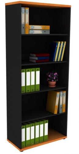 Темный офисный шкаф