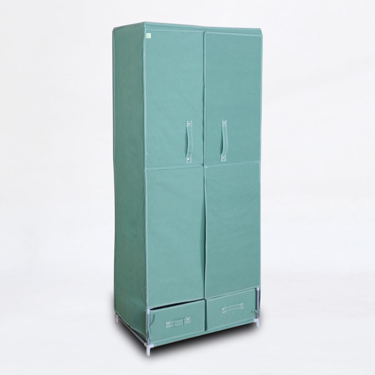 Тканевый шкаф с дверью