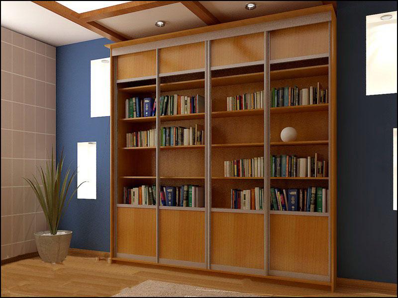 Традиционный шкаф библиотека