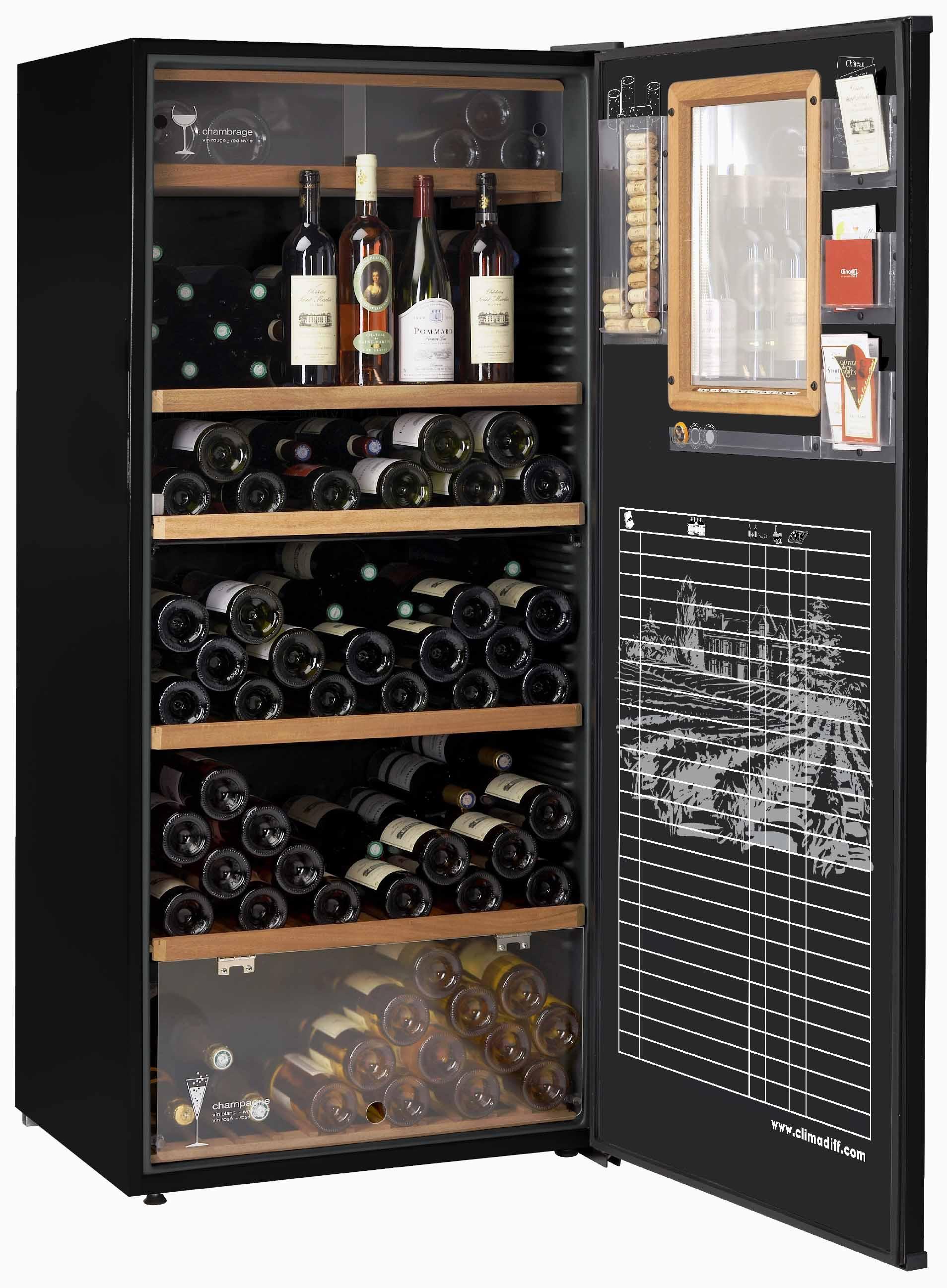 Трехзонные винные шкафы