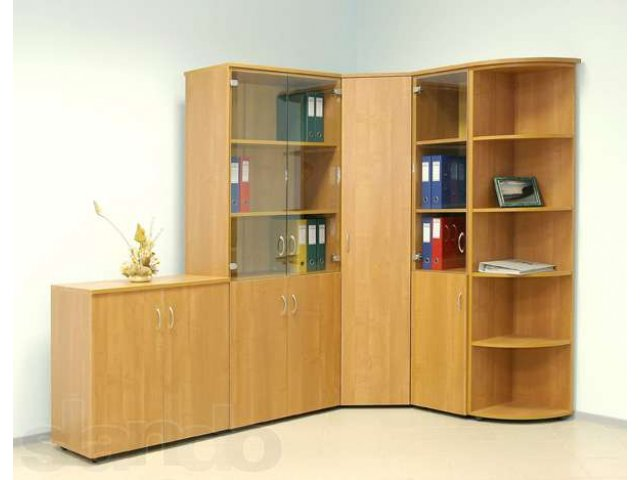 Угловой шкаф для документов