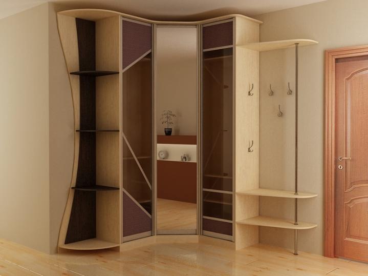 Угловой шкаф-купе - особенности, преимущества