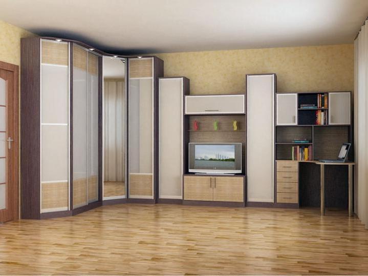 Угловые модели шкафов