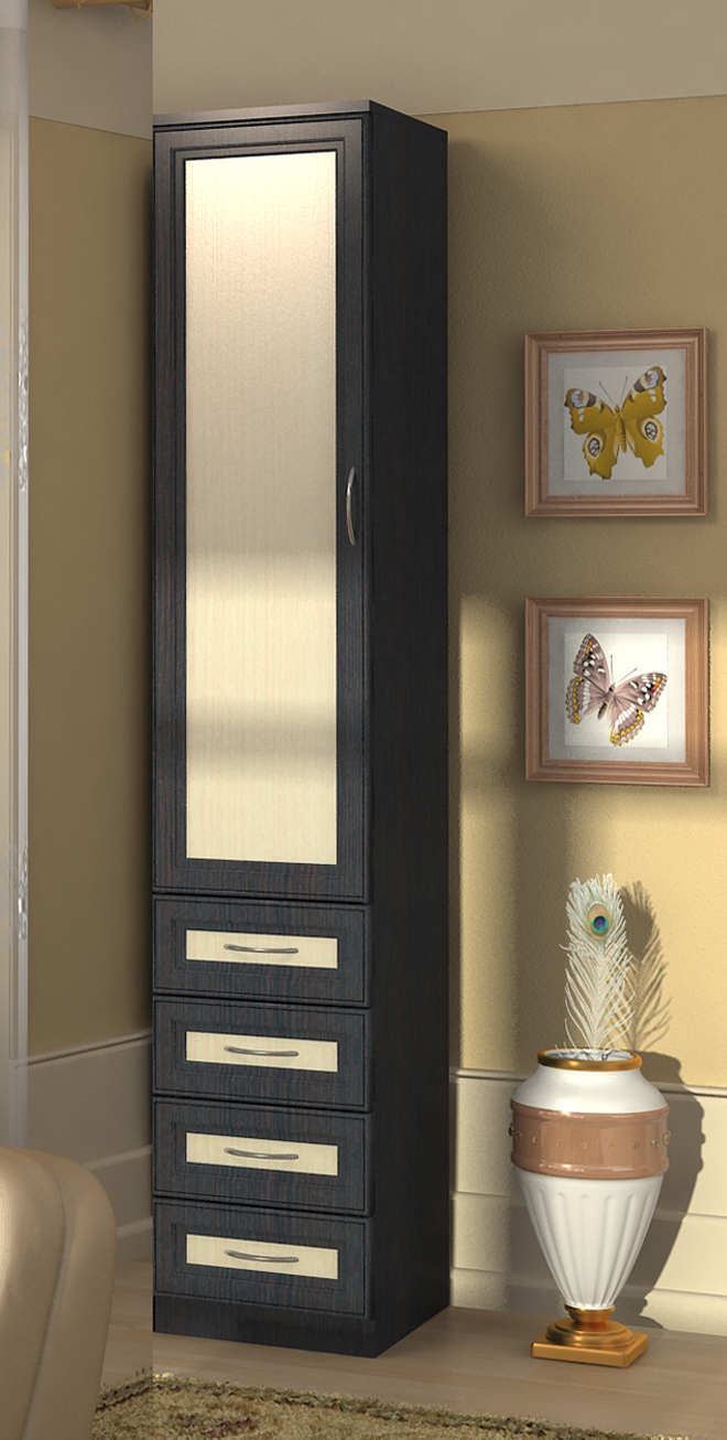 Узкие шкафа для одежды