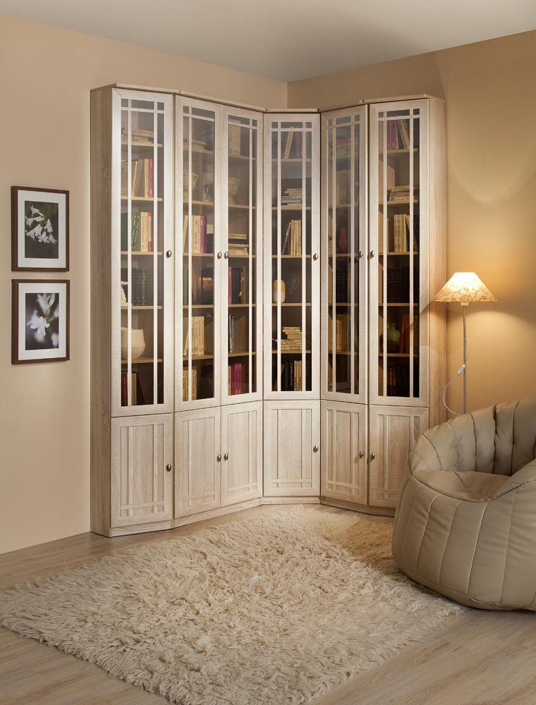 Узкий шкаф для книг