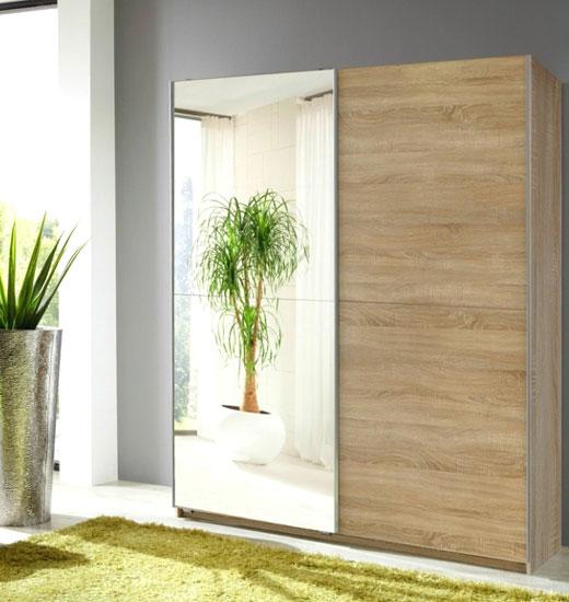 Узкий шкаф с одной дверью